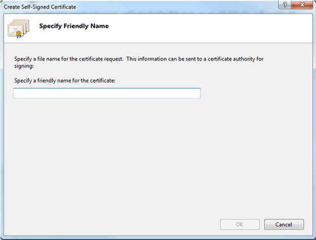 How to Create a Self Signed Certificate in IIS | About SSL
