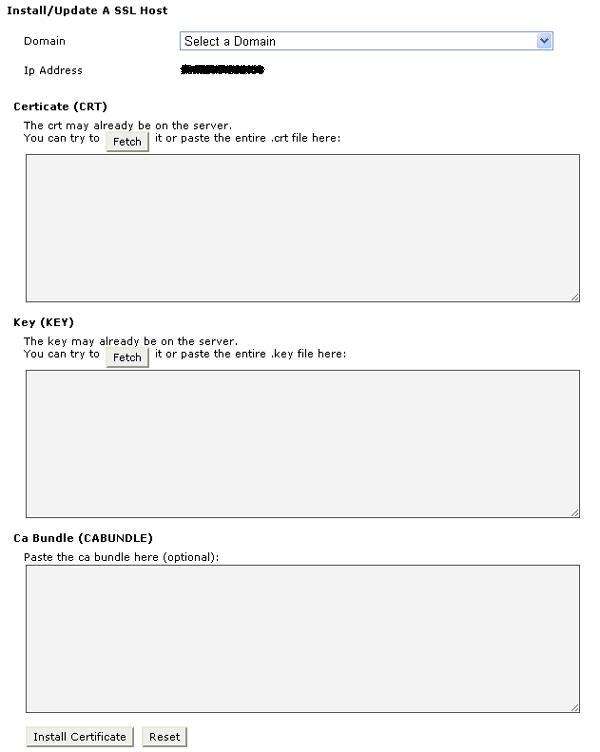 cPanel-SSL-Certificate-Installation