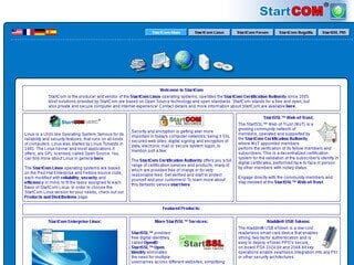 startcom ssl screen shot