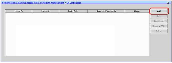 add ca certificate