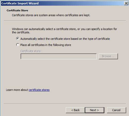select-the-certificate-store