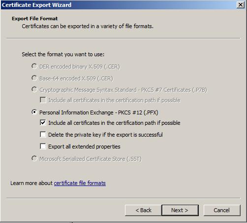 include-certificate-in-certificate-path