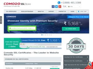 comodosslstore-india-home-page