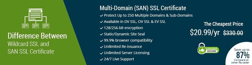 multi domain ssl certificate