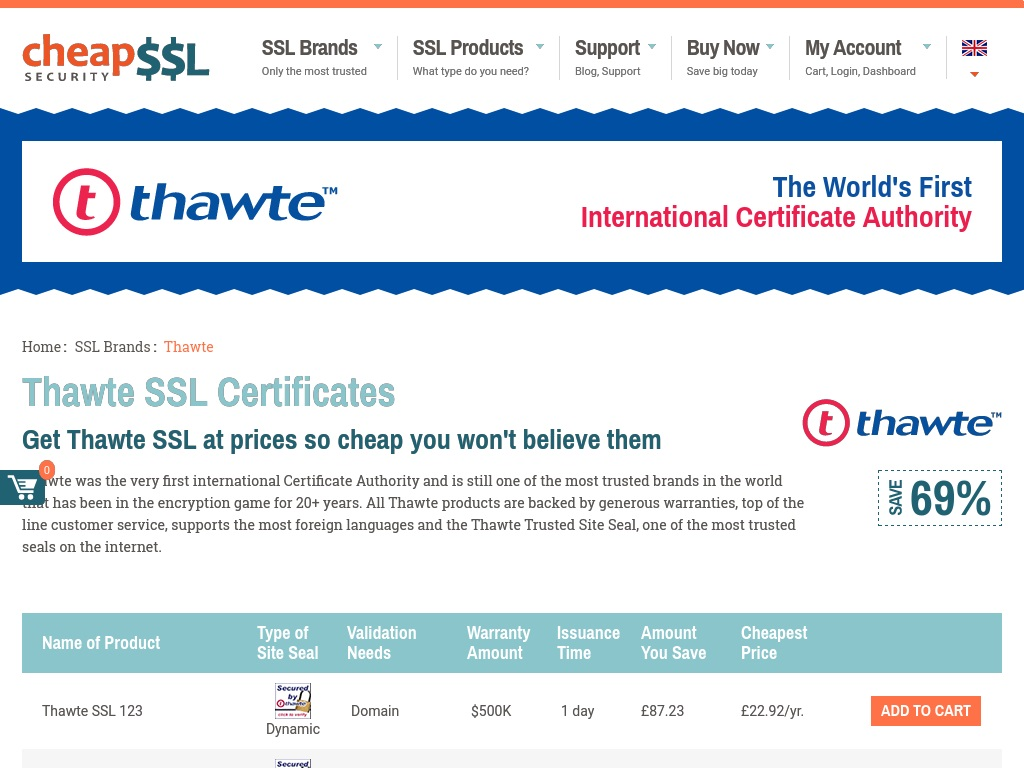5 Best And Cheapest Ssl Certificate Providers In The Uk