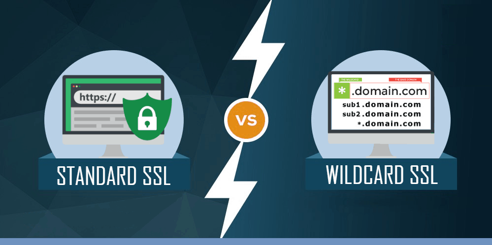 standard ssl vs wildcard ssl certificate