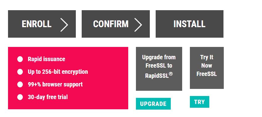 Free SSL Certificates | About SSL