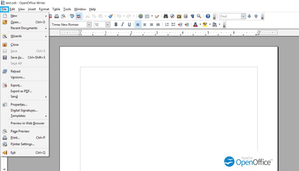 openoffice-file-option