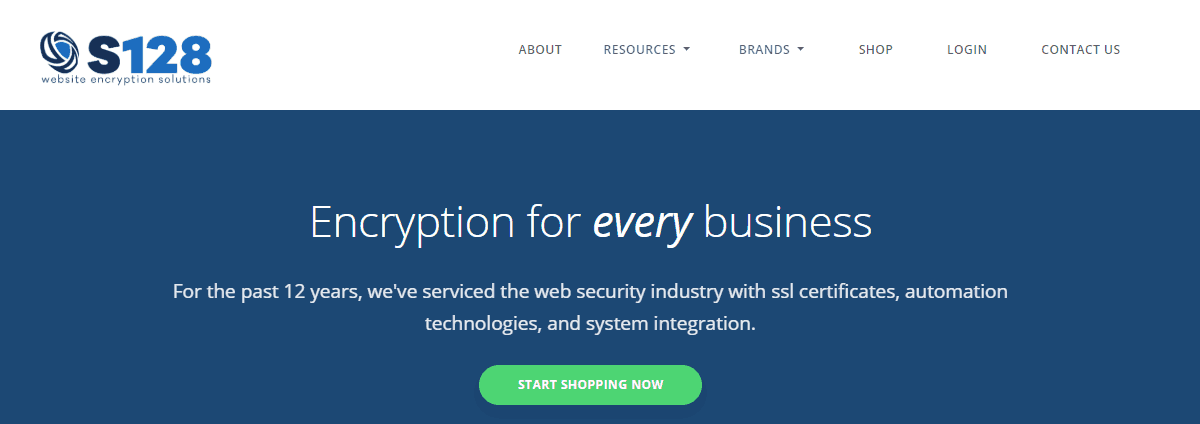 secure128-home-page