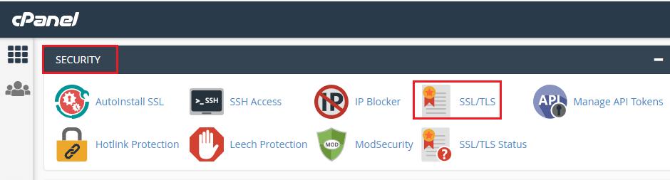 c-panel-security-ssl-tls