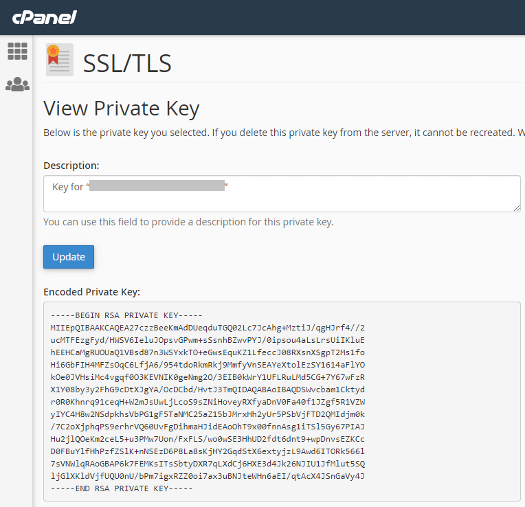 c-panel-ssl-tls-private-key-view-private-key