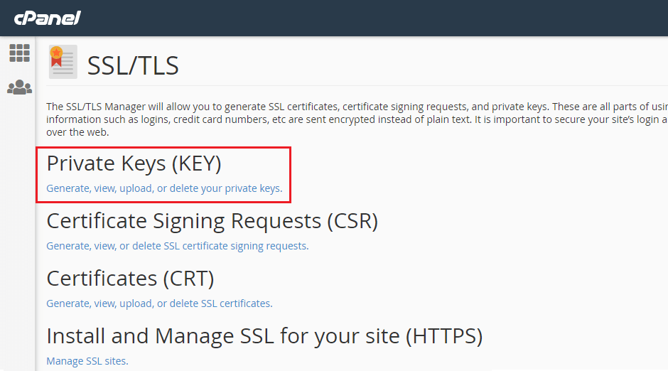 c-panel-ssl-tls-private-key
