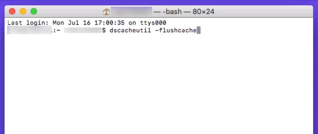 flush-cache-mac