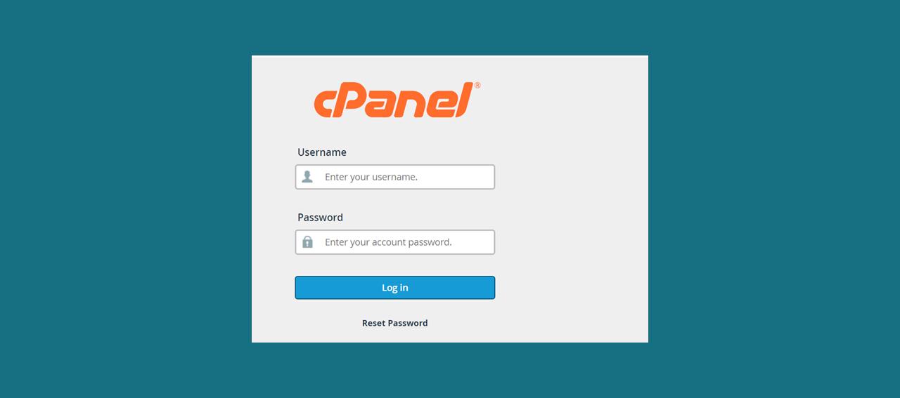 cpanel-login-screen