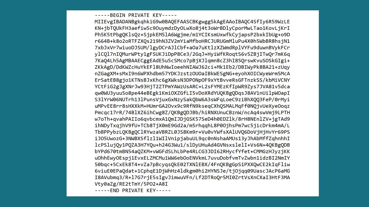 private-key-request