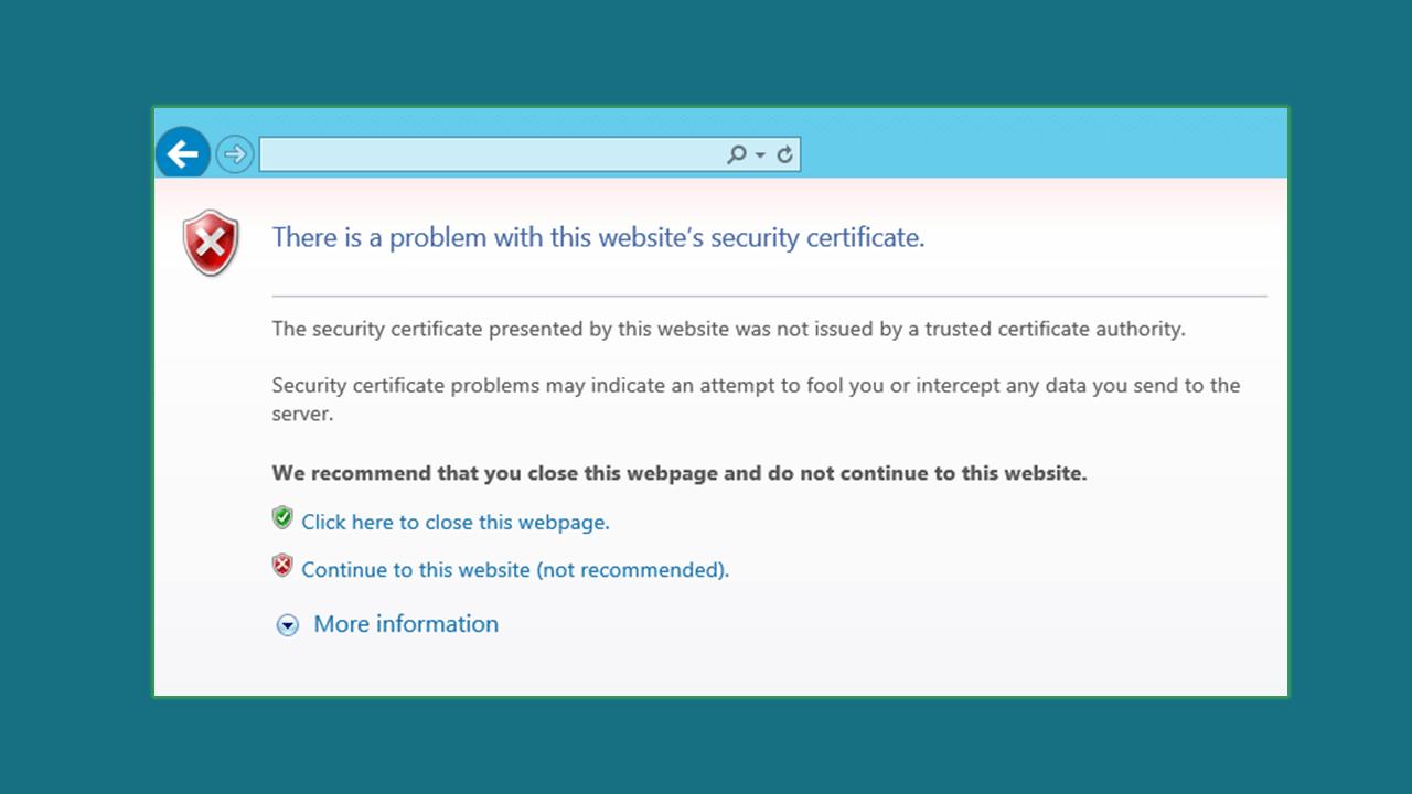 untrustworthy-certificate-authority